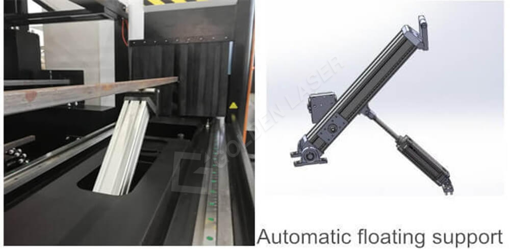 laser cutting machine for pipe price