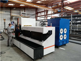 laser cutting machine in France