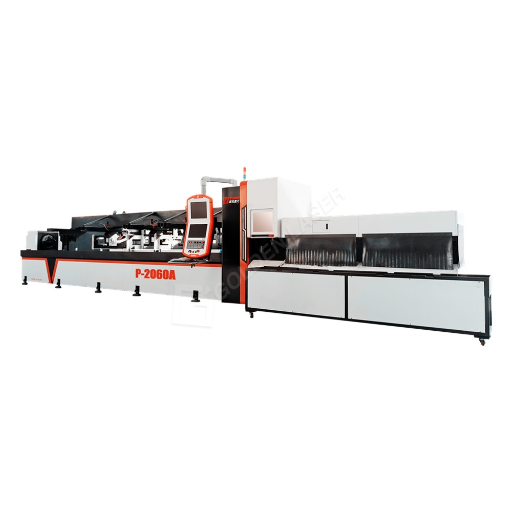 Fiber Laser Cutting Tube Machine For Fitness / Sports and Playground Equipment Featured Image