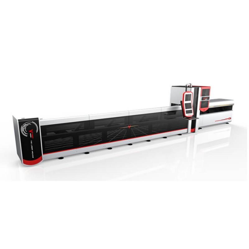 1000w 1500w Semi Automatic Stainless Steel Tube Pipe Fiber Laser Cutting Machine