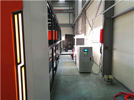 máquina de corte láser de metal
