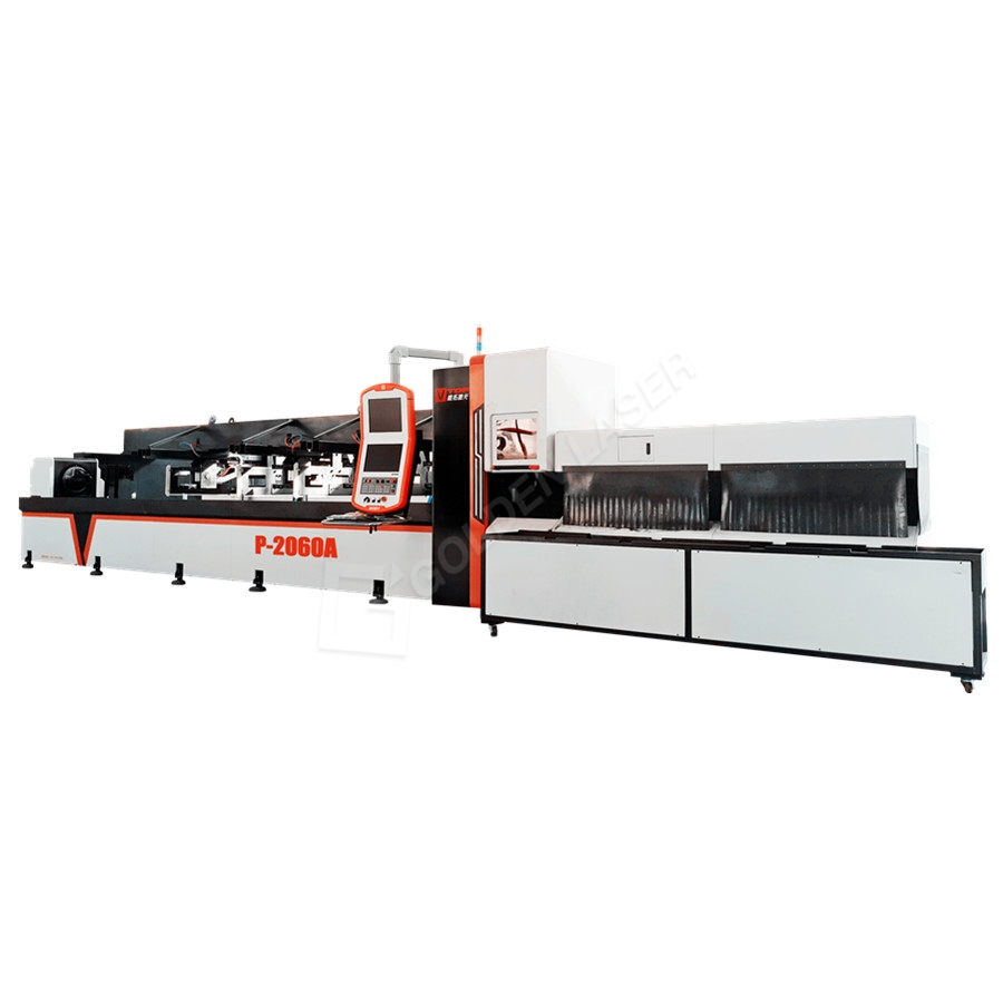 Cnc Fiber Laser Metal Cutting Machine For Round,Square Tube / Pipe Featured Image