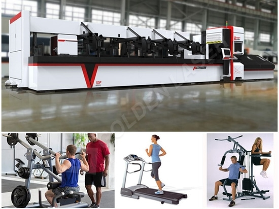 p2060a fiber laser cutting machine for fitness equipment