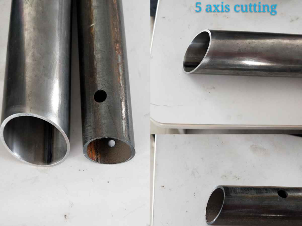 golden laser 5axis pipe and 2D tube cutting compare