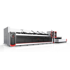 2500w 3000w Cutting Fiber Laser Metal Machine Ji bo Round, Tube Qada / Pipe