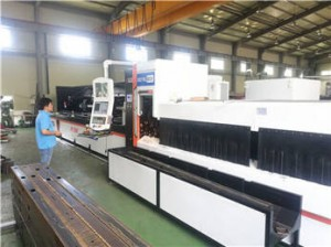 pipe laser cutter P2060A in Korea customer side