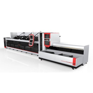 1500w 2500w Fully bide Bundle Loader Fiber Laser Tube Machine Cutting