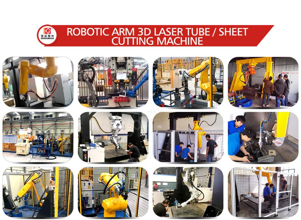 robotic arm 3d laser cutting machine price