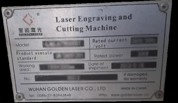 macchina laser dorata serie n.