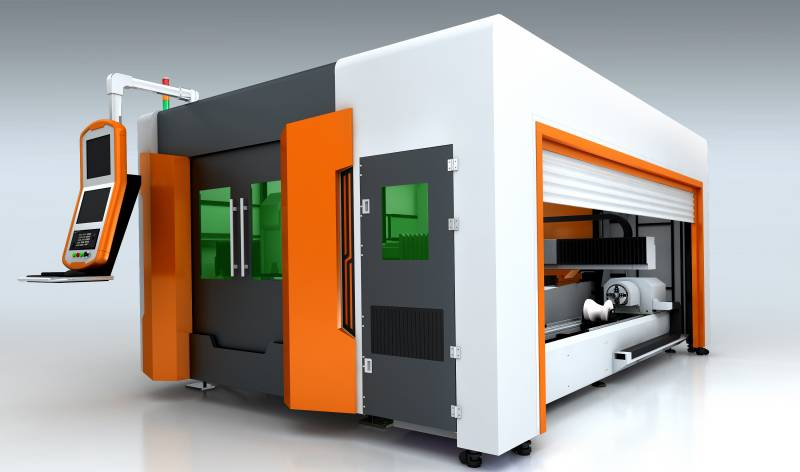 sheet metal and tube laser cutting machine