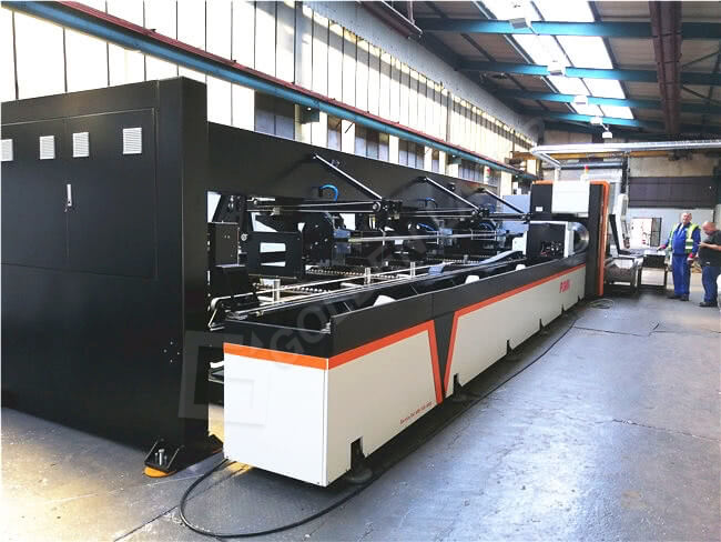 steel pipe laser cutting machine