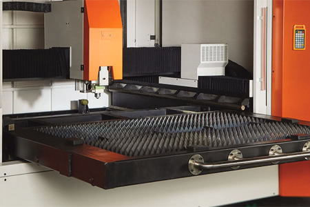drawer table of metal laser cutting machine