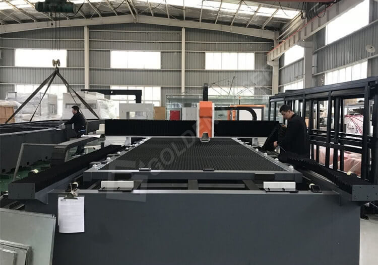 tube and sheet laser cutter